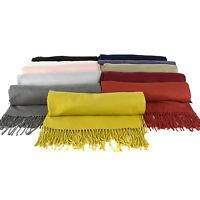 Luxury Wool Blend Pashmina Shawl
