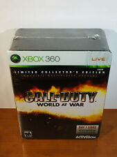 Call of Duty: World at War (Xbox 360 Limited Collector's Edition) NEW SEALED!