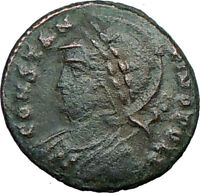 Constantine I The Great founds Constantinople Ancient Roman Coin Victory i21413