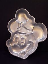 Wilton Disney MICKEY MOUSE Head Cake Pan Band Leader # 515-302 Retired face Hat