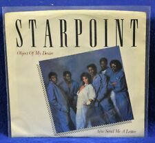 Starpoint - Object Of My Desire /Send Me A Letter - 1984 45rpm Vinyl NM