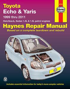 Toyota Yaris 2005 Onwards Workshop Repair Manual with MPN HA92732