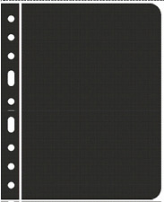 """""""Lighthouse Vario Stamp Storage Pages-ZWL-Divide Sheet-Black Back-0sided"""