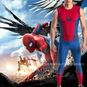 Spider-Man Homecoming Set Suit Spiderman Cosplay Costume Adult Kids Halloween 01