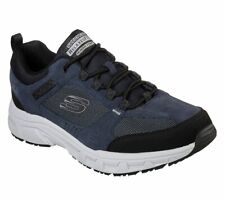 Skechers Walking Shoes Blue Athletic Shoes for Men for sale