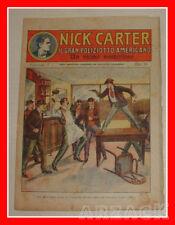 NICK CARTER 7 Nerbini 1923 IL GRAN POLIZIOTTO AMERICANO Racconto Completo