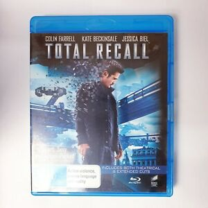 Total Recall Bluray Movie - Free Postage Blu-ray Action Scifi