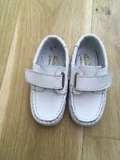 GARVALIN 50 aniversario Boys Shoe White Leather Size 22