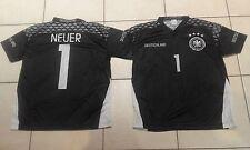Football tee shirt Allemagne gardien, no 1 Neuer Bayern-env. 8/10 ans