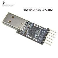 1/2/5/10PCS CP2102 USB 2.0 to TTL UART 6Pin Serial Converter STC Replace FT232