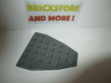 @@ BLACK @@ NOIR LEGO 2625 @@ Boat Bow Plate 7 x 6 without Stud Notches x1