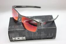 OAKLEY HOLBROOK METAL | MATTE GUNMETAL / POLARIZED TORCH IRIDIUM 4123-0555