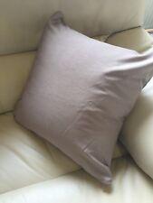 Mink Faux Silk 43cm X 43cm Cushion With Hollowfibre Bounce Back Inner