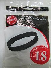 Hoover U4707 U4730 Style 18 40201318 2 Pack Belts Clean & Light Signature Vacuum