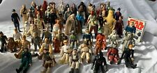 Vintage  STAR WARS Bundle -    some Rare Approx 66 figures + guide/badges etc.