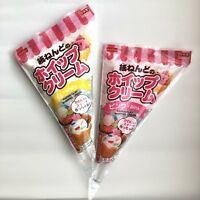 DAISO JAPAN Soft Paper Clay WHIPPED CREAM Set of White and Pink Made in JAPAN