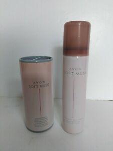 AVON Soft Musk Body Spray 75ml and Avon Soft Musk Talc 40g