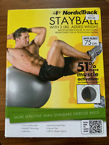 """Nordictrack Exercise Ball 75 cm / 30 """" Sealed NEW"""