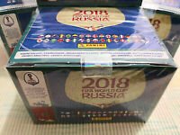2018 Panini Russia FIFA World Cup Soccer Sticker Collection – 104 Pack Box