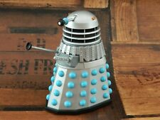 Doctor Who Figure Silver / Blue Classic Dalek - The Chase - Orange Beacons