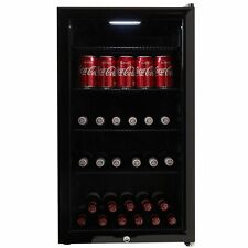 Cookology CBC98BK 98L A+ Undercounter Wine and Beverage Cooler - Black