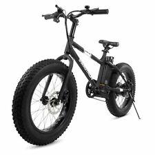 """Swagtron EB6 20"""" Bandit Electric Bike 350W Motor Fat Tire E-Bike Shimano 7-speed"""