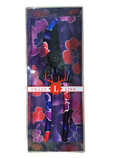 Crazy Line Red Flowers Pattern Secateurs
