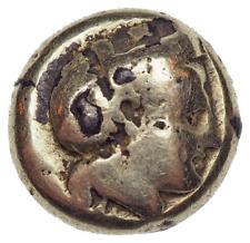 LESBOS, Mytilene. Circa 412-378 BC. Fourree EL Hekte – Sixth Stater