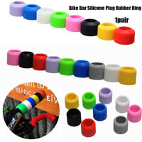 Road Bicycle Grips Bar Tape Accessories Bike Plug Rubber Silicone Ring