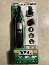 Wahl 3-in-1 Wet/Dry Personal Ear, Nose, and Brow Hair Trimmer Battery Operated