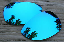 Cool Sky Blue Mirrored Polarized  Replacement Sunglass Lenses for Oakley Felon