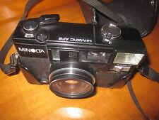 Vintage Film Camera MINOLTA H-MATIC AF2 AUTO FOCUS PROTECTIVE LEATHER CASE PHOTO