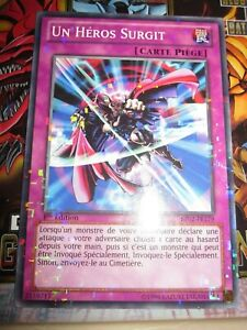 YU-GI-OH! STARFOIL UN HEROS SURGIT BP02-FR179 FRANCAIS EDITION 1 NEUF