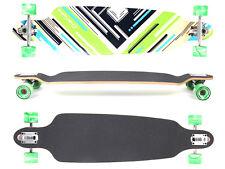 "Drop Through Design Longboard ""Charisma Green No.64"", 101 cm von MAXOfit"
