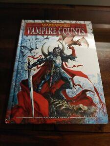 NICE Warhammer Fantasy 8th Ed. Vampire Counts Army Book