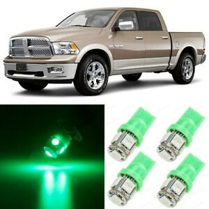 14 x Ultra GREEN Interior LED Lights Package For 2002 - 2010 Dodge Ram 1500 2500