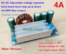 4A DC-DC 3V 3.3V 5V 12V 15V 24V Boost Buck Step Up Step Down Power Supply Module