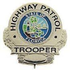 FL FLORIDA HIGHWAY PATROL MINI BADGE PIN - NEW POLICE PIN