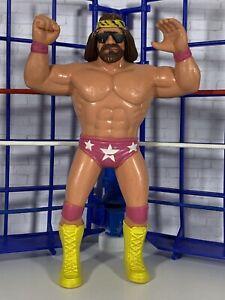 WWF LJN Macho Man Randy Savage Nice!! Vintage Titan Sports