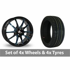 X 1/9 Calibre Aluminium Wheels with Tyres