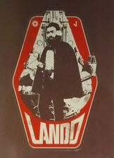 "SOLO A Star Wars Story  CS-5 "" Character Sticker ""   Lando Calrissian 2018 Topps"