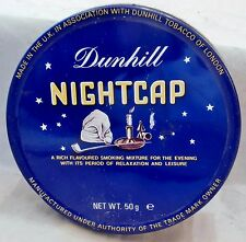 DUNHILL 'NIGHTCAP' Tobacco Tin; Made in UK; Pristine Condition;Great Collectible