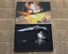 3PCS Final Fantasy VIII FF8 keychain Ring Necklace set box cosplay