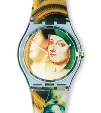 """SWATCH ARTIST GENT """"THE LADY AND THE MIRROR by Miran Fukuda"""" (GN170) NEUWARE"""