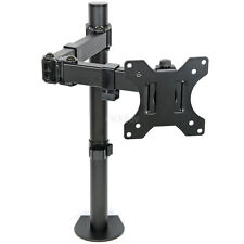 Monitor TV Desk Mount Arm Clamp Stand 100mm VESA Tilt Swivel Bracket LDT12C012N