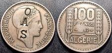 Algeria French - 100 Francs 1952 Contremarqué Oas