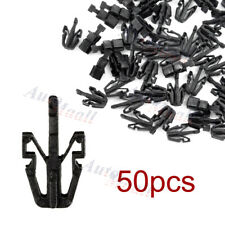 50pcs Grille Retainer Clip Black Plastic For Chevy Colorado GMC Canyon 2004-2012