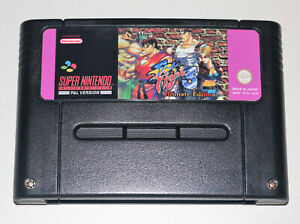 *PAL* Final Fight 3 Ultimate Edition with 15 Characters For Super Nintendo SNES