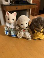VTg Tomy/Epoch Sylvanian Families Calico Critters Silk Cat Rabbit Hedgehog P80