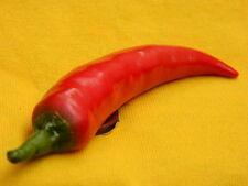 Red Chilli Pepper Spicy Hot Food Fruit 3D Fridge Magnet Refrigerator